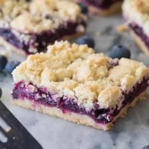 Blueberry Crumb bar