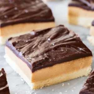 Chocolate covered peanut butter bar