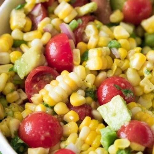 Corn Salad - Sugar Spun Run