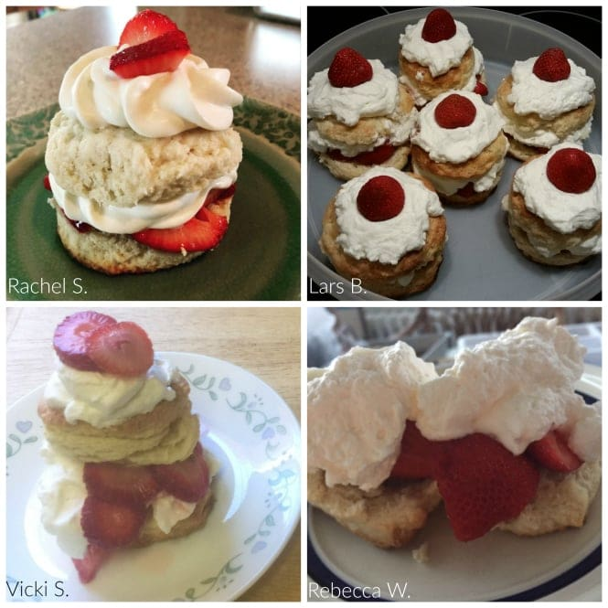 Strawberry shortcake recipe of the month