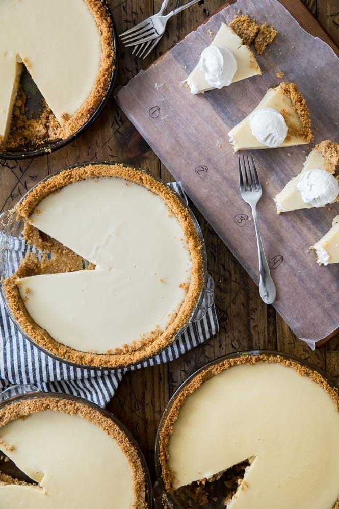 taste testing 4 different key lime pies