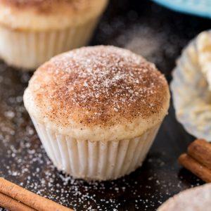 Mini cinnamon muffin