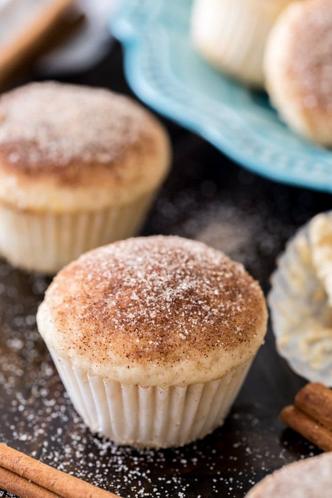Mini Cinnamon Muffins