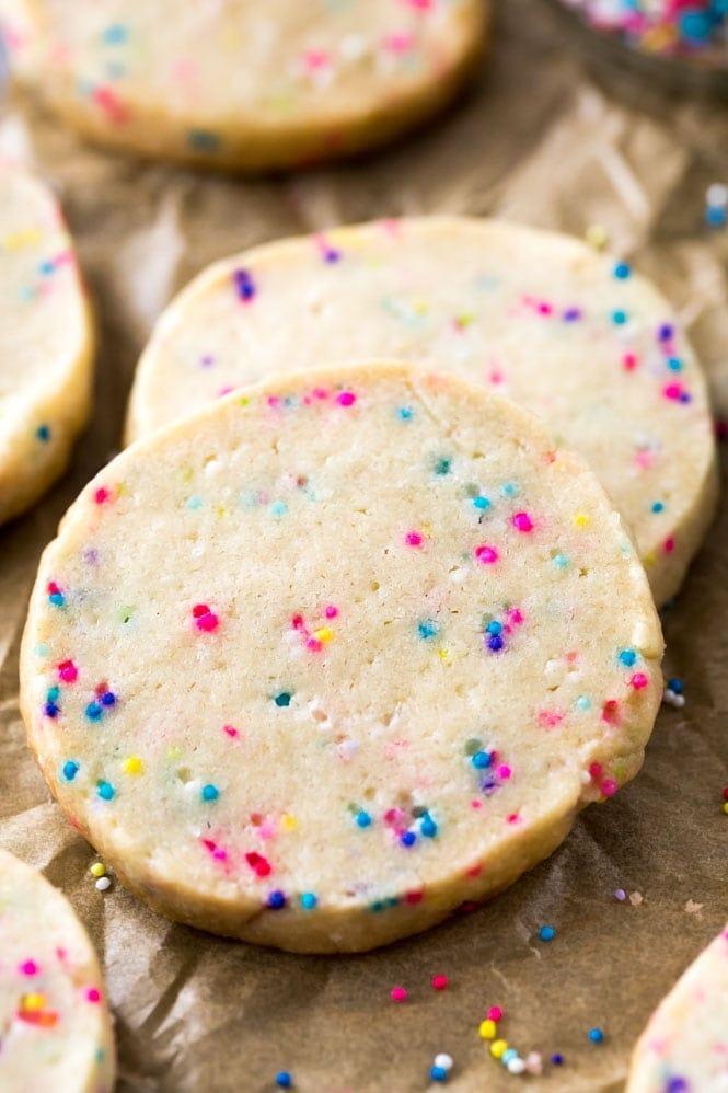 freshly baked slice and bake cookies