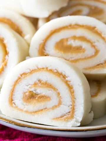 Potato Candy pinwheel slices