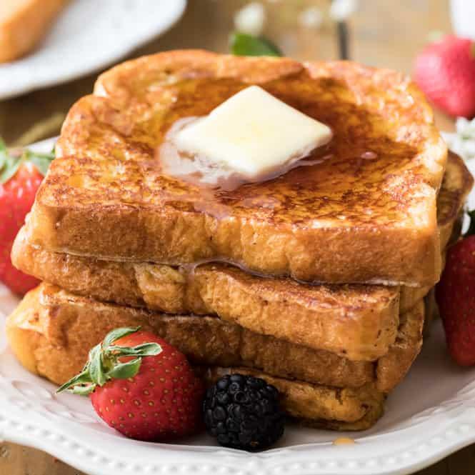 Easy French Toast Recipe Sugar Spun Run