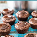 Brownie Bites with Chocolate filling