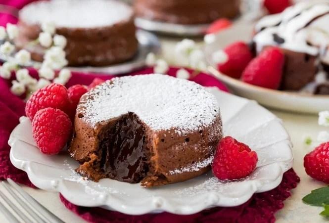 Chocolate Lava Cake Recipe - Sugar Spun Run