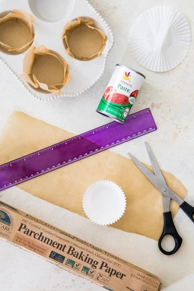 Equipment for making parchment paper liners