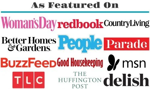 places sugar spun run has been featured (Women's Day, Redbook, Good Housekeeping, Country Living, the huffington post, People, Delish, MSN, TLC, Parade, Better Homes & Gardens, Buzzfeed)