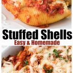 Stuffed Shells, Easy and homemade