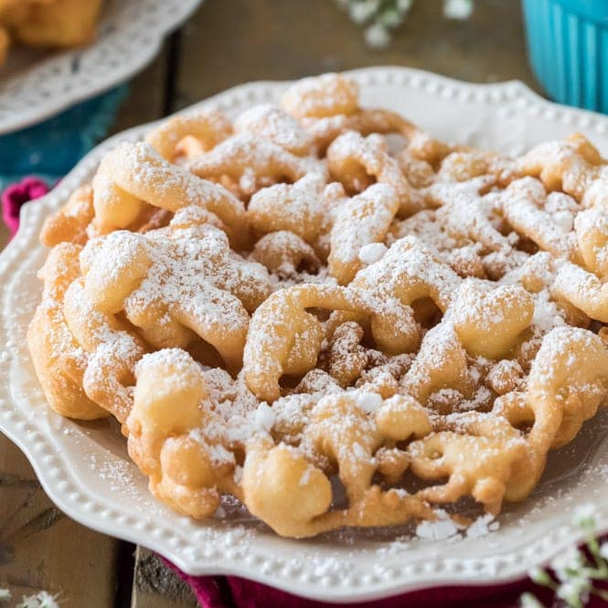 Funnel Cake Recipe Sugar Spun Run