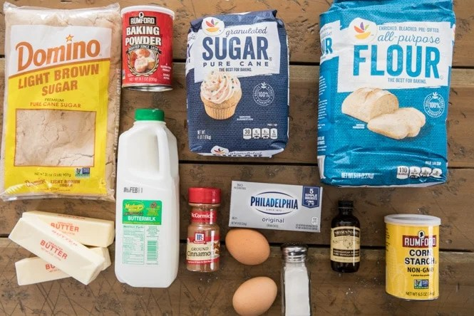 Coffee cake recipe ingredients
