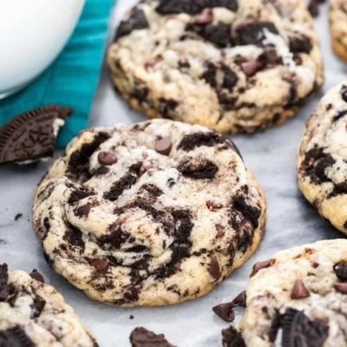 Cookies and Cream Cookies - Sugar Spun Run