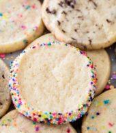 icebox cookies with sprinkles