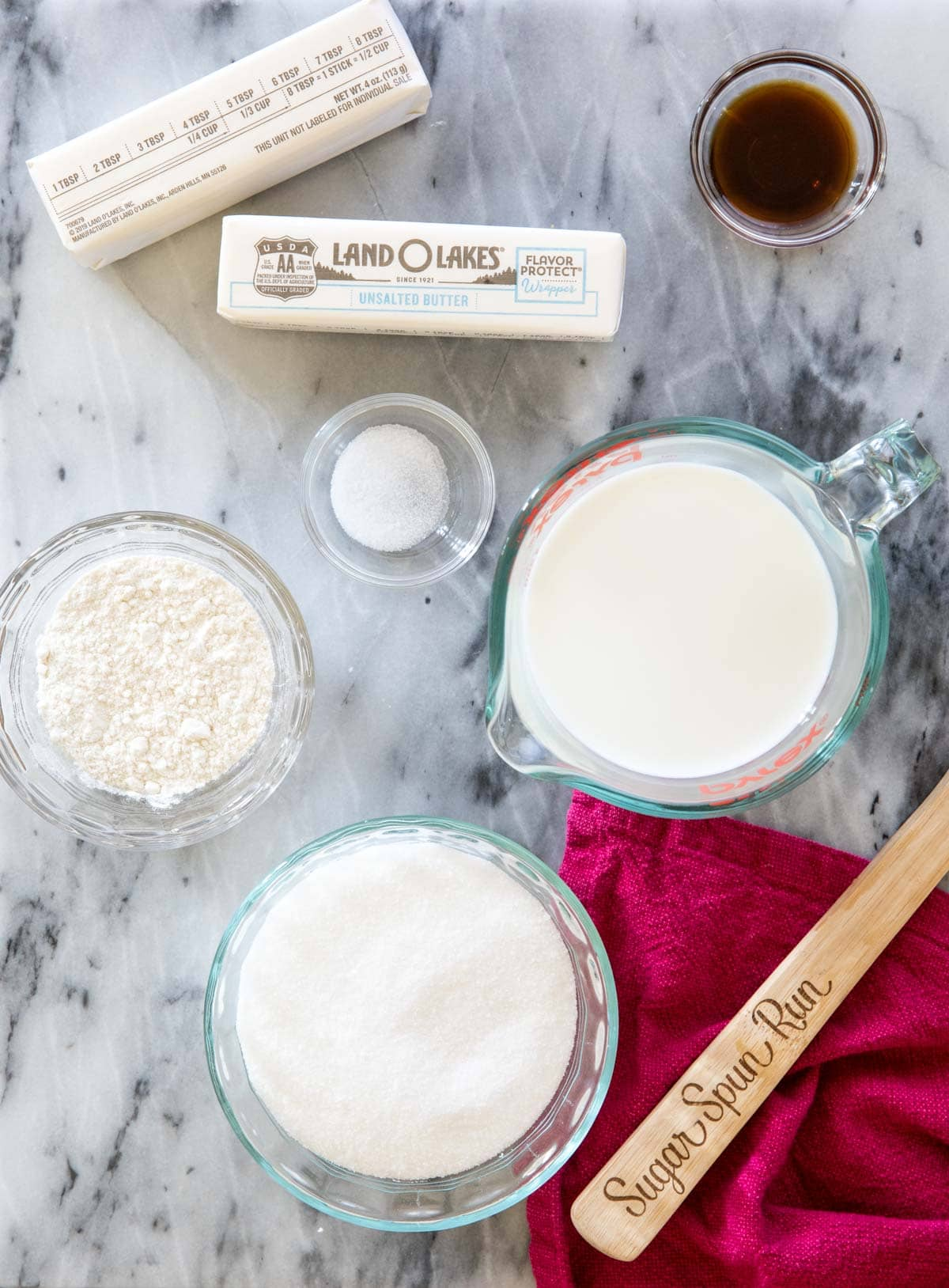 ingredients for ermine icing