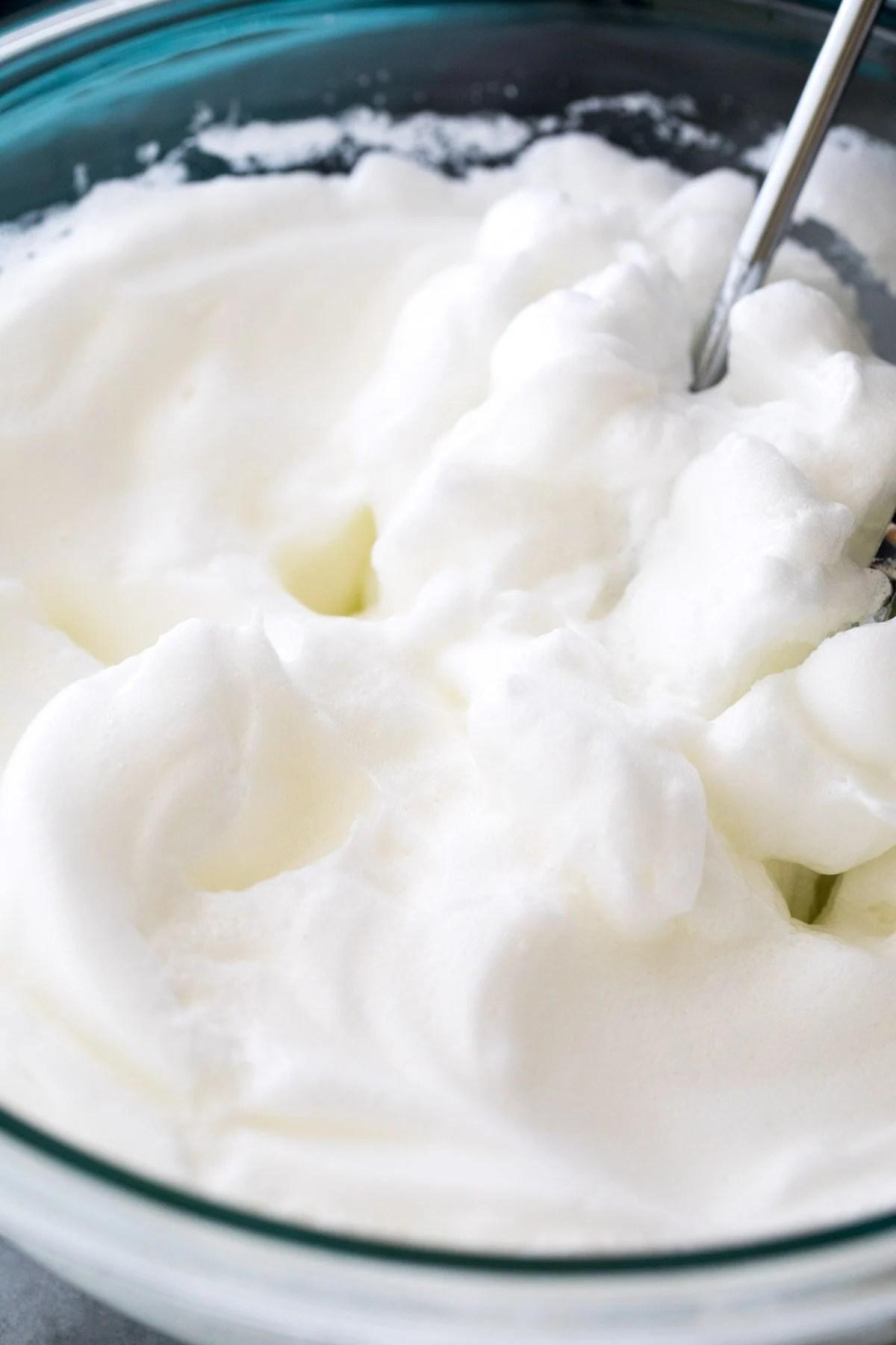 whipped egg whites