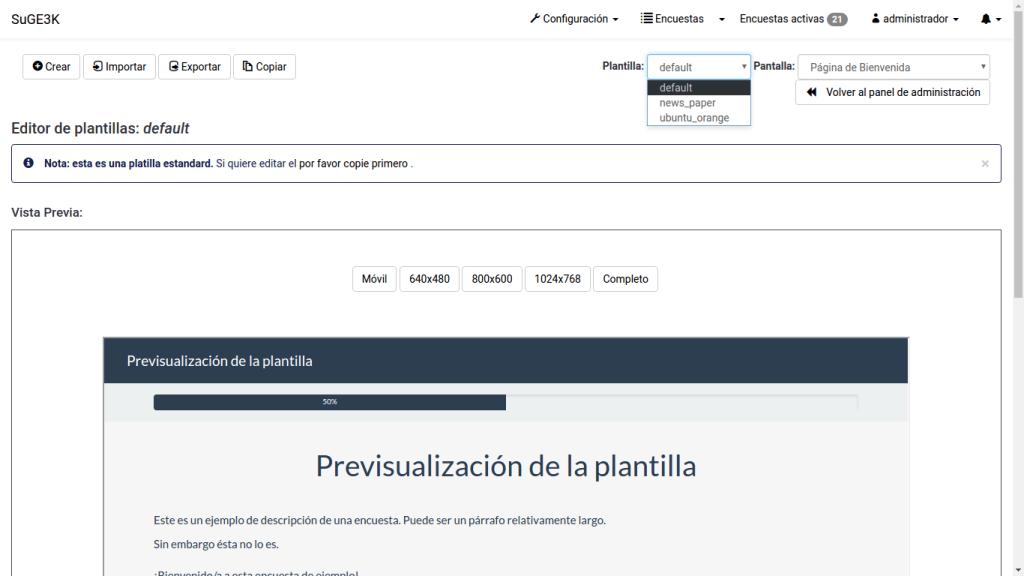 LimeSurvey - Plataforma de Captura de Datos, Formularios y Encuestas