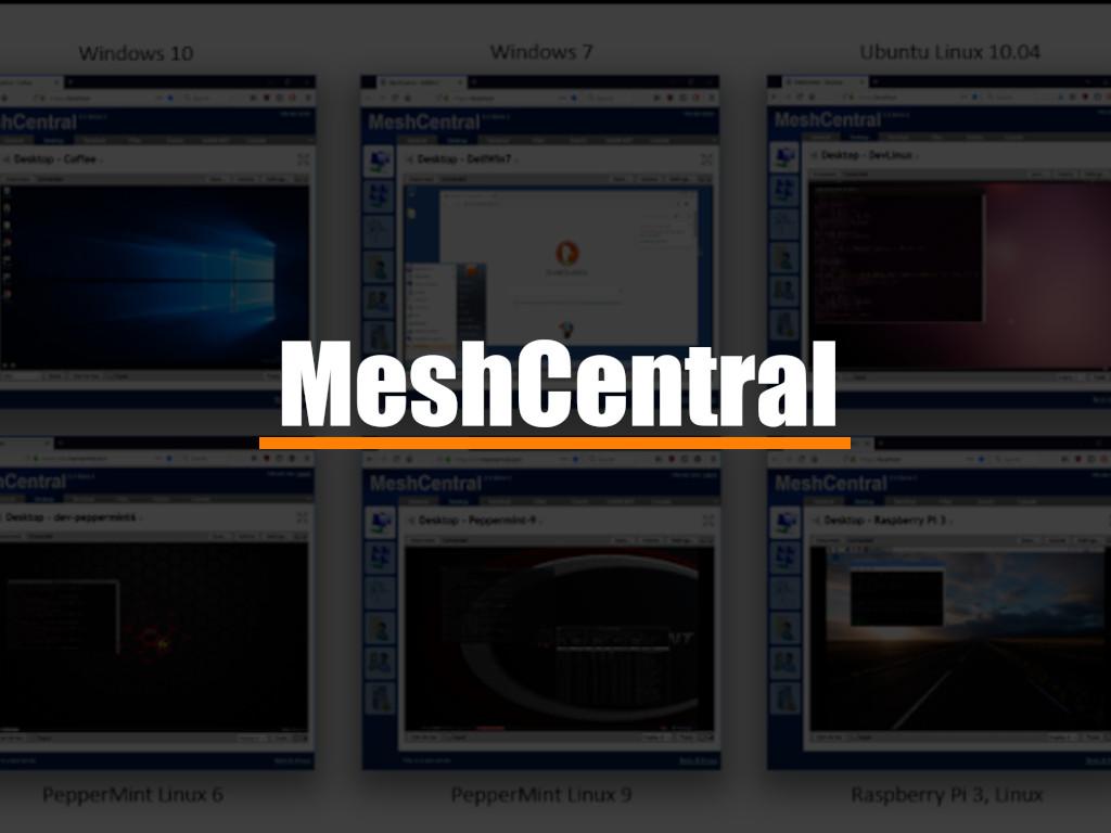AnyDesk y Compañía tienen competencia, es MeshCentral