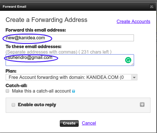 How to not fall for your domain email id with address