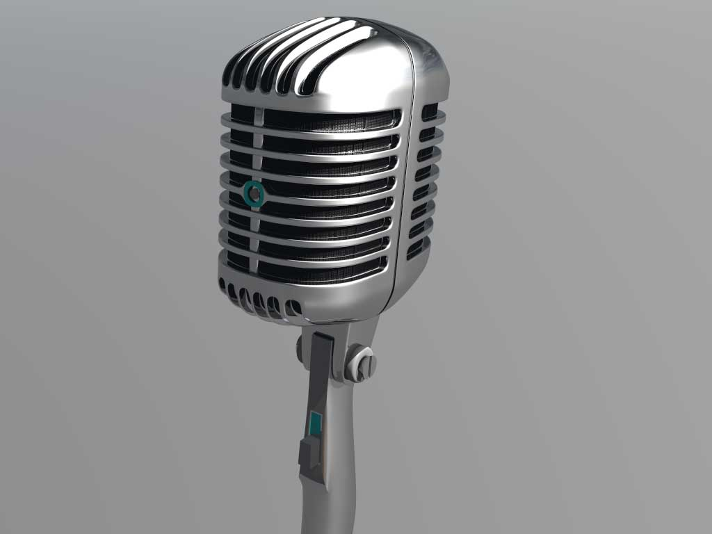 The First Time to Be Master of Ceremony Microphone