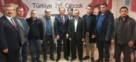 KOÇAK'I ZİYARET ETTİLER.