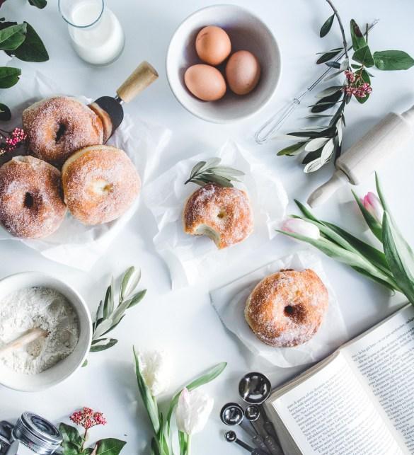 zachte donuts recept