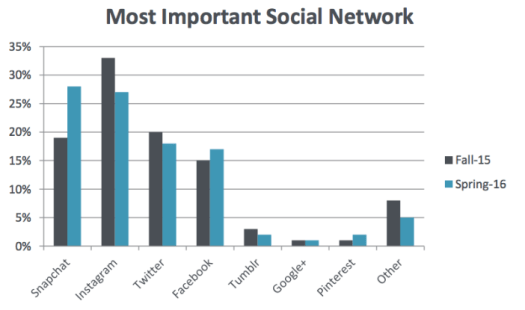 most important social networks