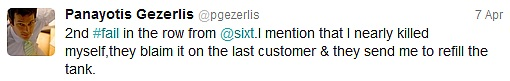 sixt twitter fail 2