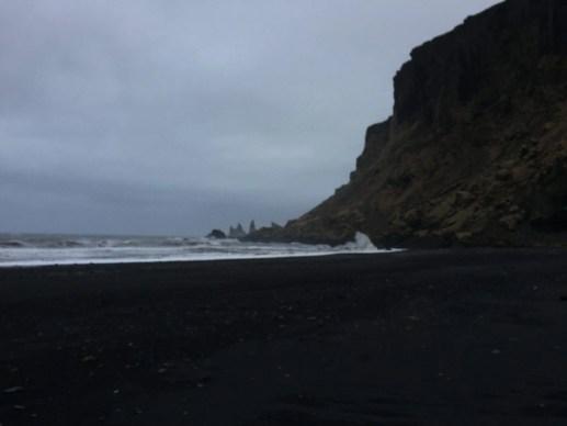 Vik beach Seljalandsfoss, Skógafoss, Vík í Mýrdal