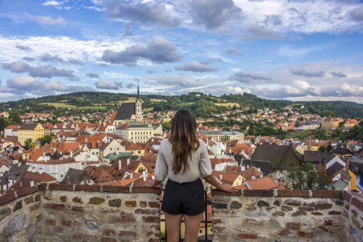 Cesky Krumlov fairytale town solo female travel Czech Republic Busabout Suitcase And I 5
