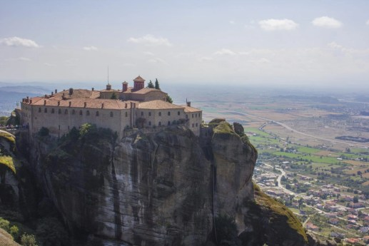Meteora Monasteries Greece Solo Female travel St Stephens Nunnery