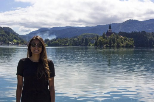 Pilgrimage Church of the Assumption of Maria, Lake Bled, Bled Castle, Slovenia, Solo Female travel, Busabout, Suitcase And I 3