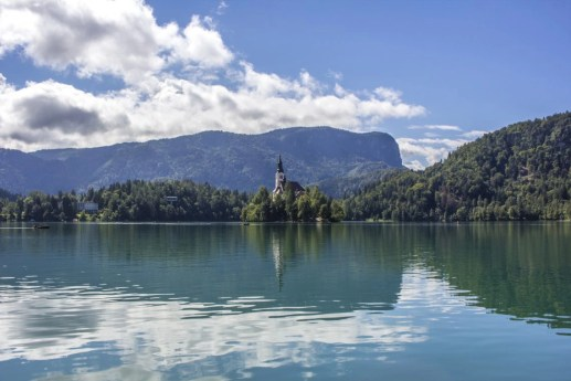 Pilgrimage Church of the Assumption of Maria, Lake Bled, Bled Castle, Slovenia, Solo Female travel, Busabout, Suitcase And I 5