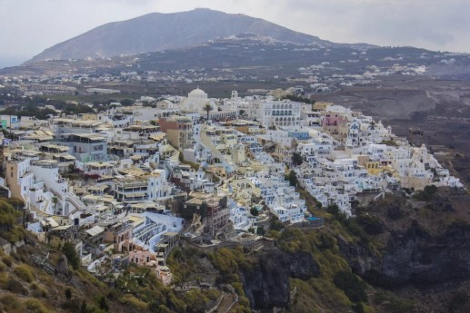 Santorini Fira Solo Female Travel Busabout Greece Greek Islands 11