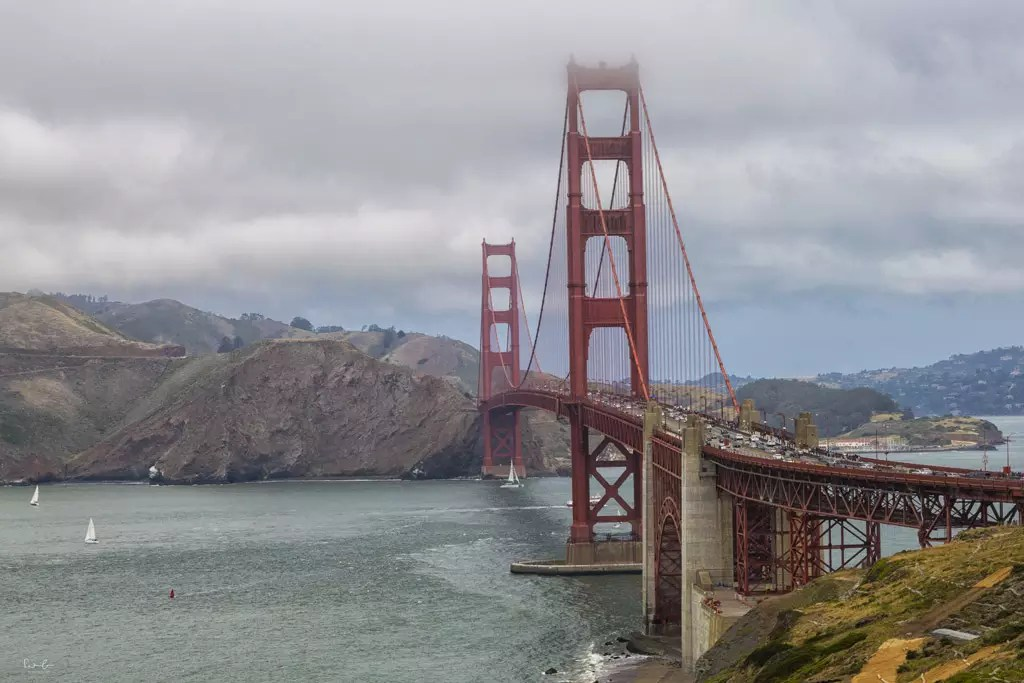Golden Gate Bridge viewpoints