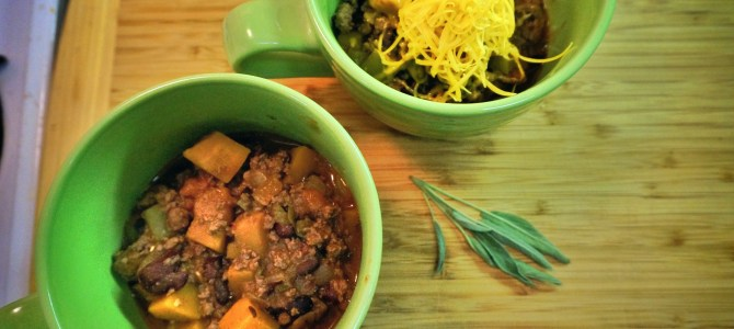 Pumpkin Sage Chili