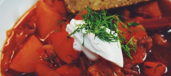 Borsch – Russian Beet Soup