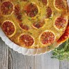 Blood Orange Brûlée Upside Down Cake