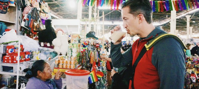 Suitcase Foodist Travels: Drinking Peruvian Chicha
