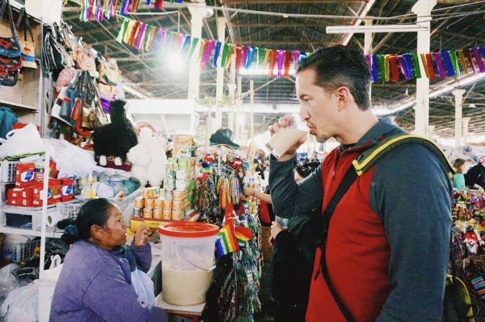 Drinking Chicha in Peru | Suitcase Foodist