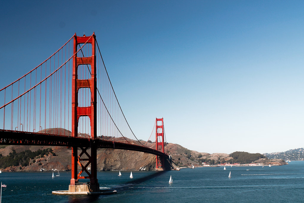 the best things to do in San Francisco - Golden Gate Bridge