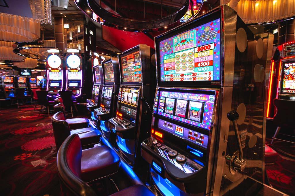 Las Vegas casino slot - Road trip West USA