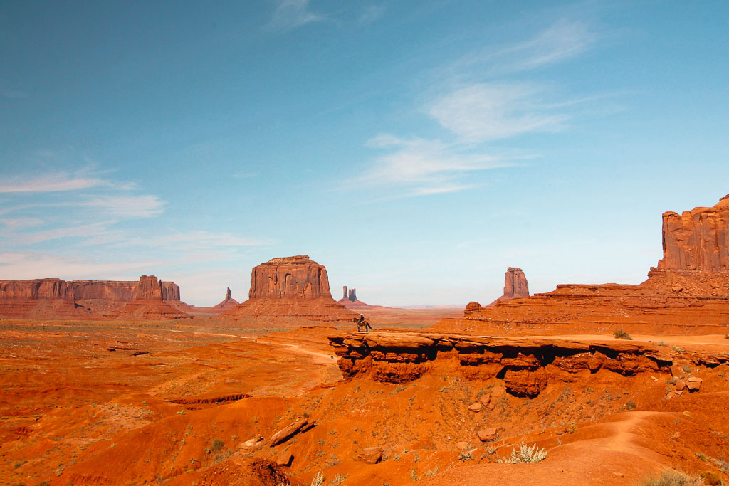 West USA - Monument Valley viewpoint
