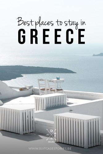 Best hotels and places to stay in Greece