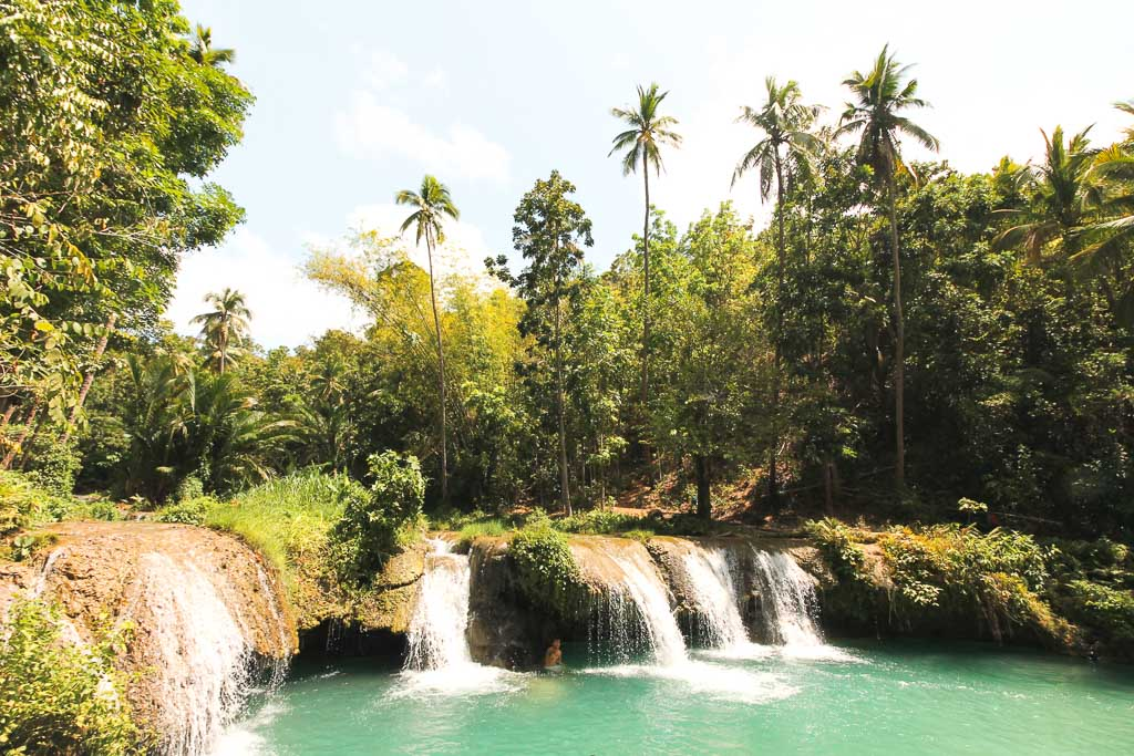 Cambugahay falls in Siquijor visit Philippines
