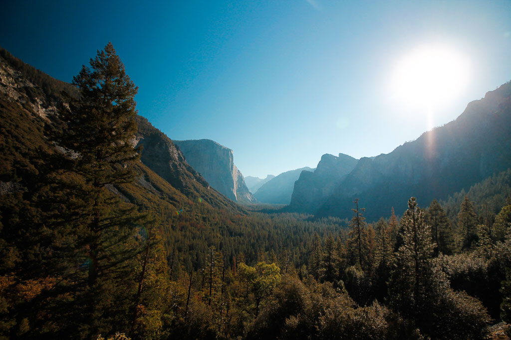 Yosemite Valley - 5 most beautiful hiking trails in West USA