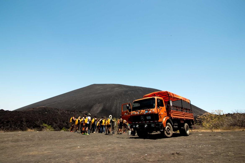 Must do: volcano boarding in Nicaragua