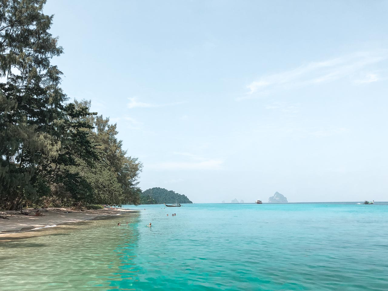 Crystal-clear waters of Koh Kradan