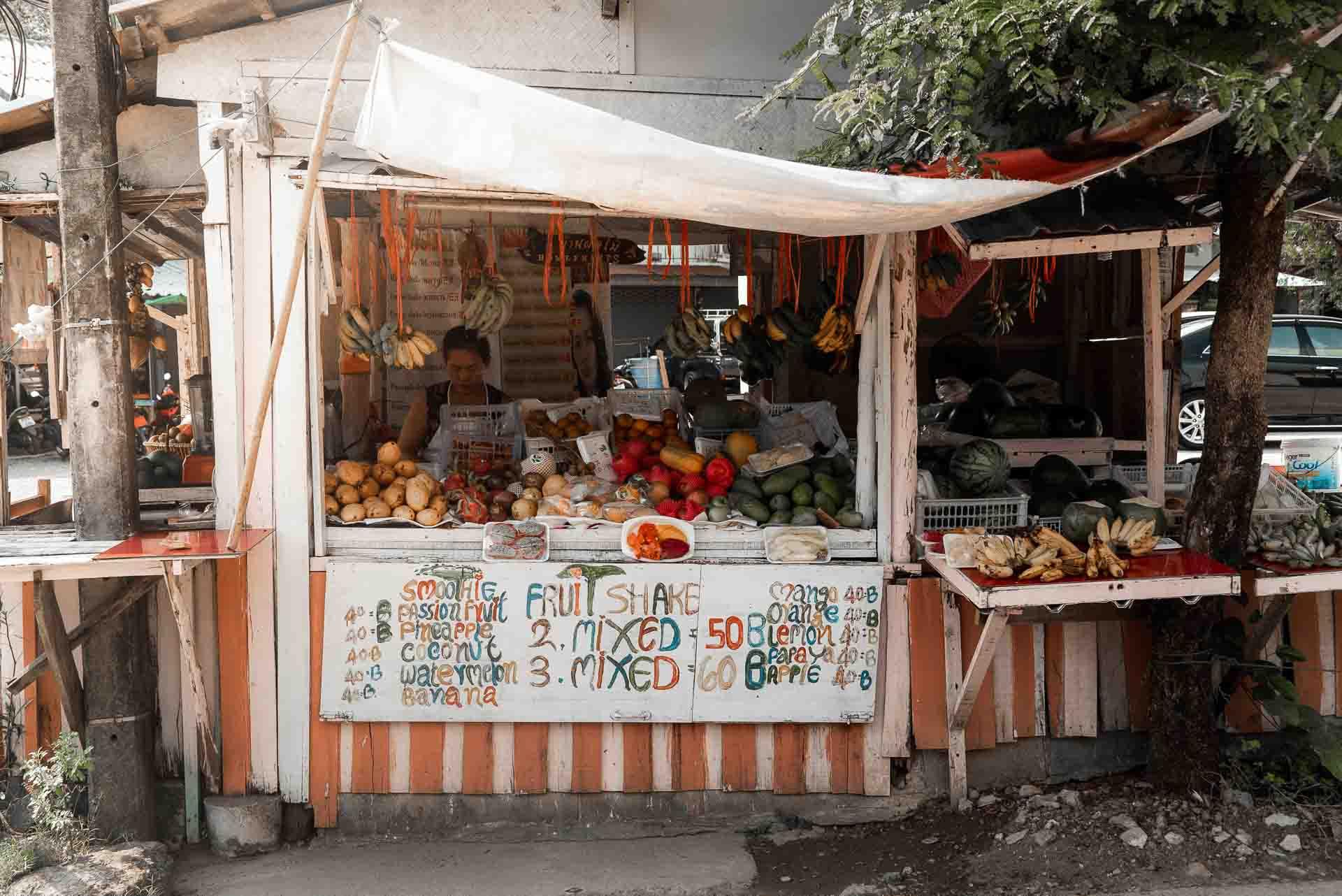 Koh Lanta Fruit Market